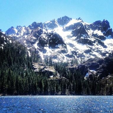 Beautiful Mountainous Peaks