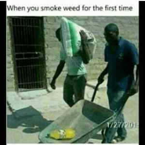 smoking weed for first time