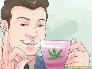 make cannabis infused tea