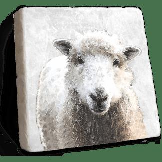 Sheep Marble Coaster