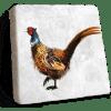 Pheasant Marble Coaster