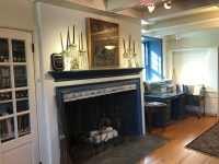 Stone Ridge Library, Fireplace, Reading Room