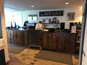 Stone Ridge Library, Front Desk
