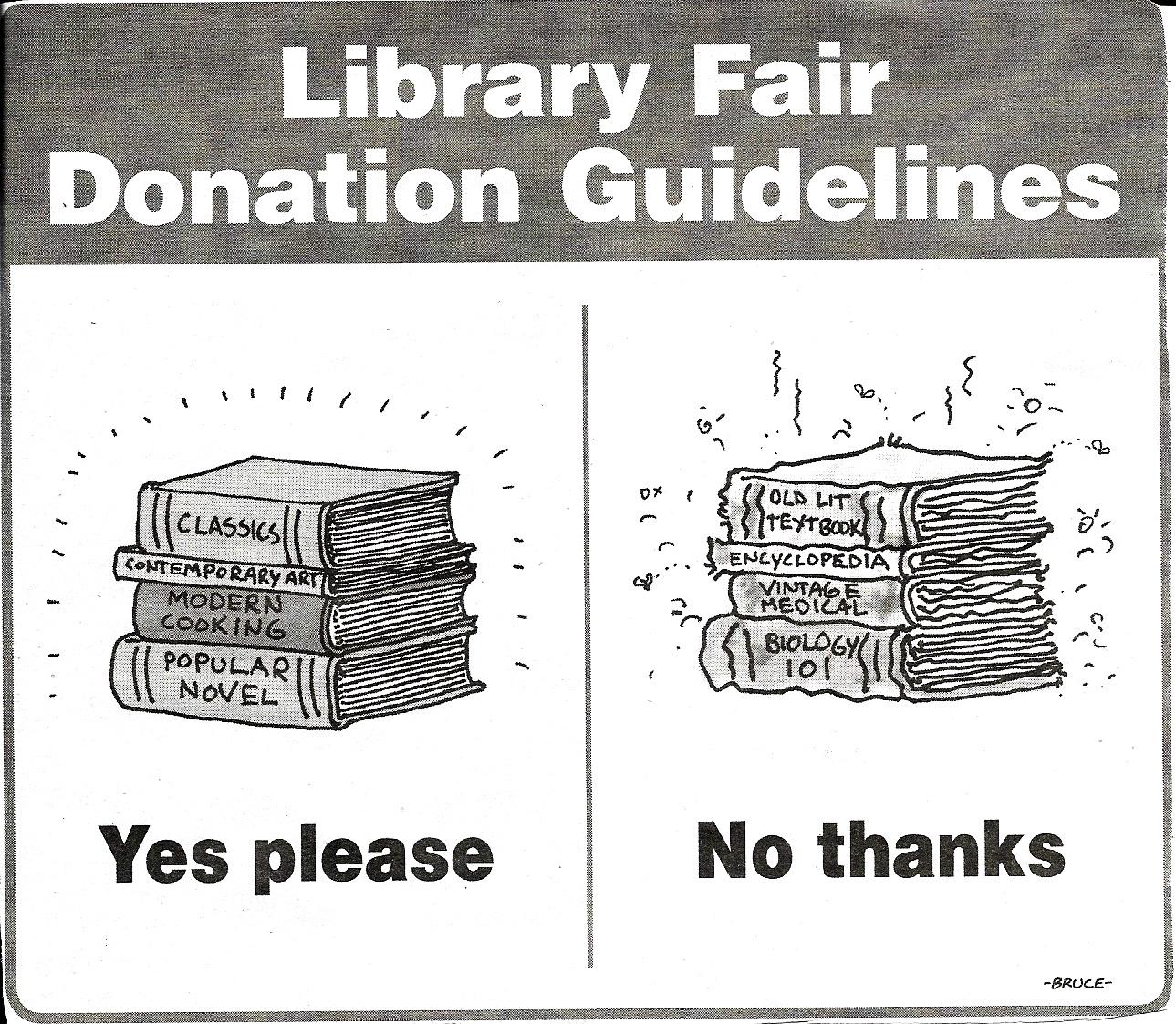 Book Donations - Stone Ridge Library