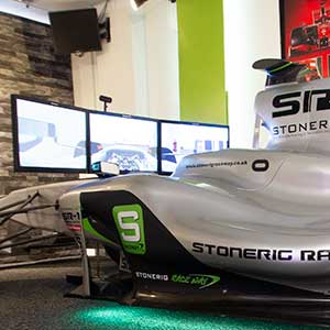 Formula One simulation 45 minutes Virtual Reality