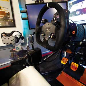 ouring Car Race Seat simulation 60 minutes virtual reality