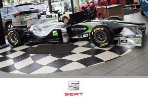 Formula One simulation Hire at Seat
