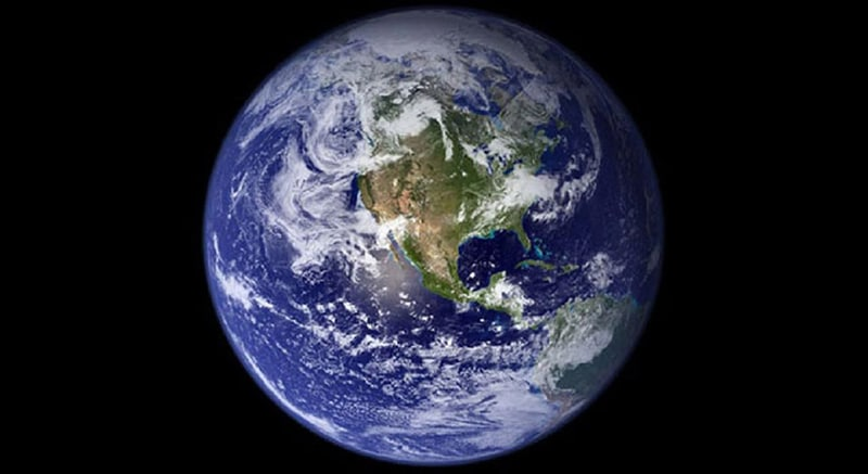 nasa photo of earth