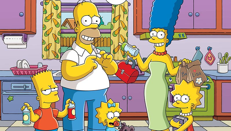 The Simpsons tv series