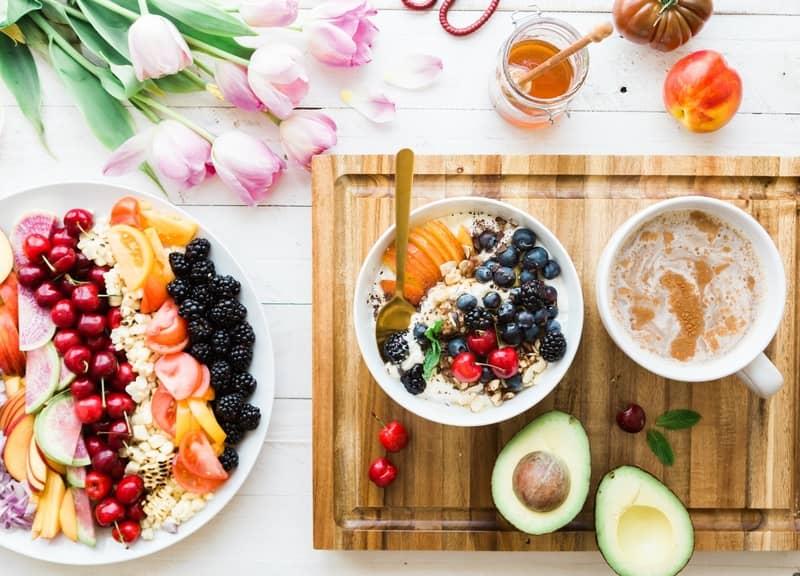 fruit mix for breakfast