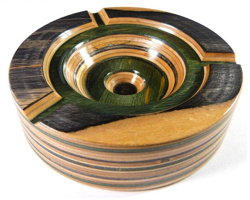 unique ashtray recycled skateboards