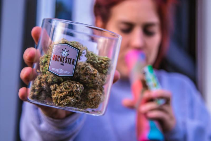 weed stash jar