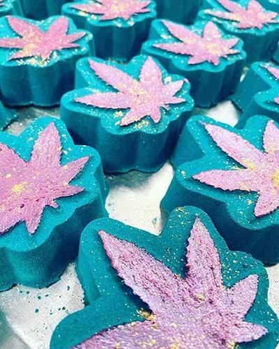 cannabis bath bombs