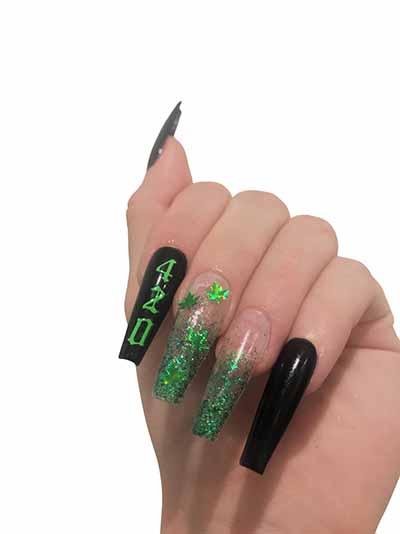 420 acrylic nails