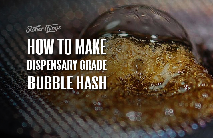 How To Make Dispensary Grade Bubble Hash [INFOGRAPHIC ...