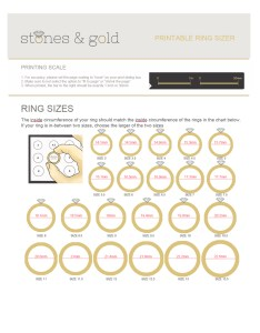 How to measure ring size also tips and tools rh stonesandgold