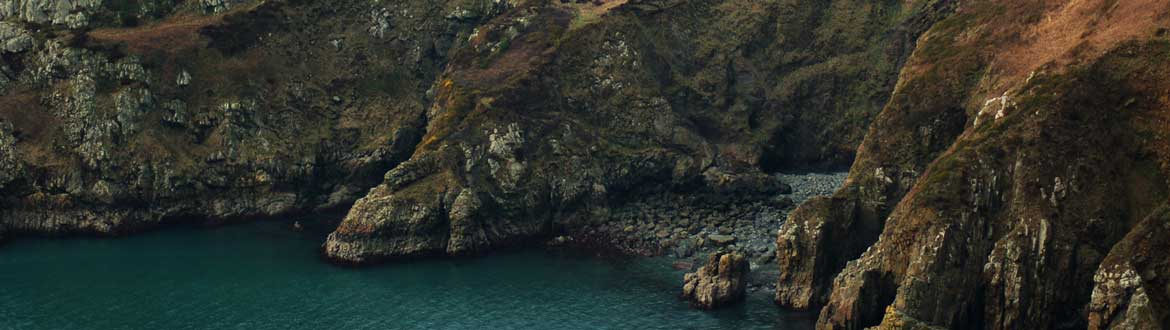 The dramatic cliffs next to the Pembrokeshire coastal path plunge down to the small coves and beaches that make this part of the British Isles so magical.