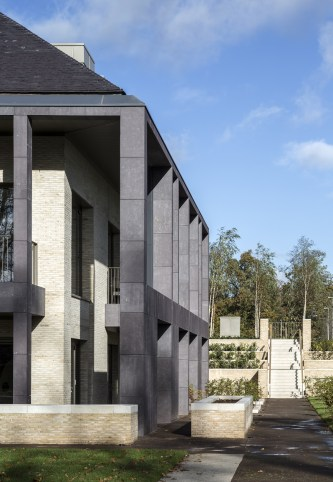 Stonescreen Aerolite© Welsh slate cladding to PPWH Glasgow