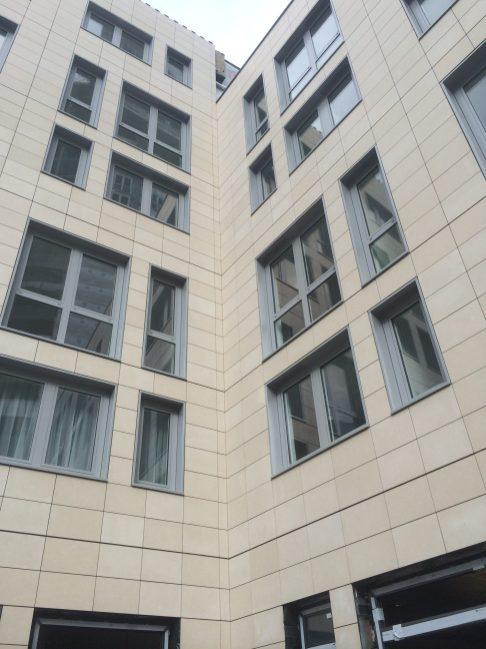 Engineered Stone Rainscreen System by Stonescreen