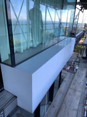 STONESCREEN Aerolite© cladding: window detail