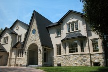 Homes with Stone and Stucco Exteriors