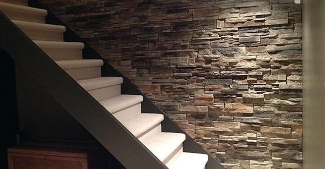 Fake Stone Interior Walls