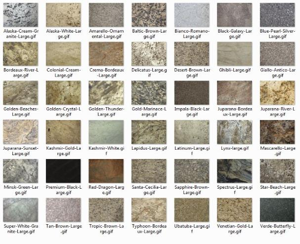 Granite Countertops Names : Granite countertop names bstcountertops