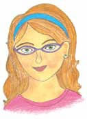 The Spectacle Dilemma girl with glasses