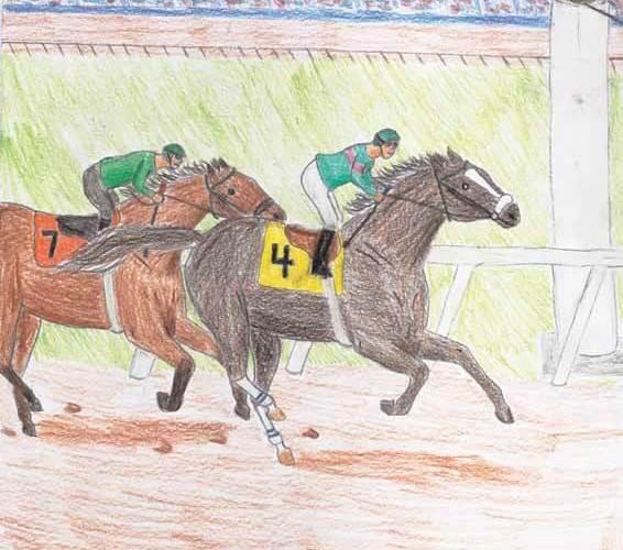 Through a Champion's Eyes horses racing