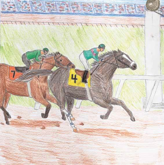 Through a Champion's Eyes horses racing