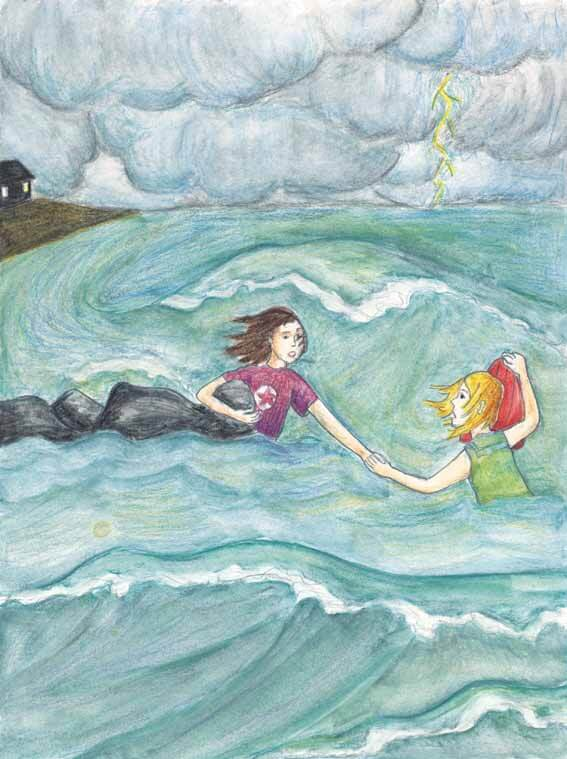 A Weekend with Isabella Hohenstaufen girls swimming