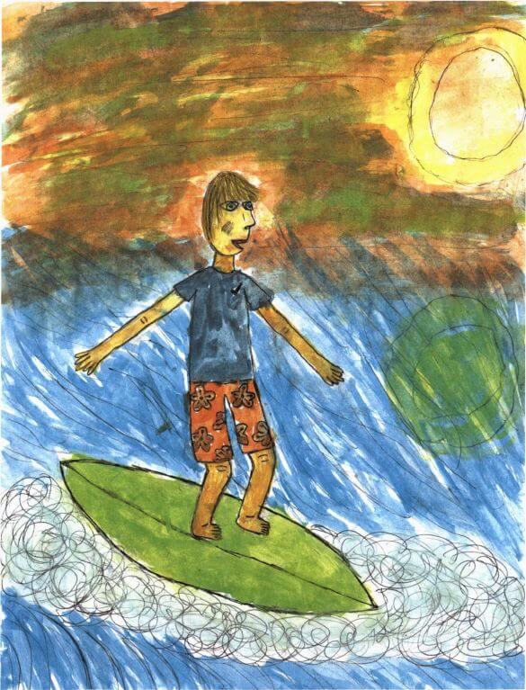 Moonbeams into Eternity surfing