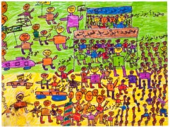 Elections, by Ashraf Anwar Ahman, age 11, Egypt