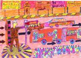 The Street, by Aissam Abd al Jowad, age 13, Egypt
