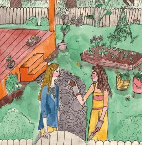 A Little Bit of Home Two Girls Talking