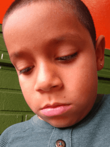 Nathaniel Canon, Age 7, CA