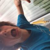 """I Didn't See the Banana Peel Waiting to Slip Under My Feet"" Oliver Girouard, age 13, WA"