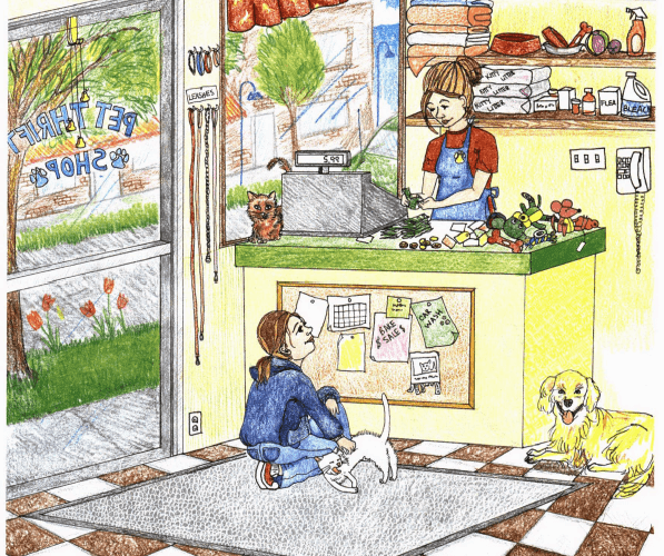 Because of Trust inside the pet shop