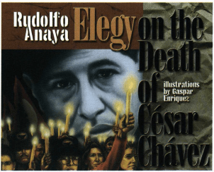 Elegy on the Death of Cesar Chavez book cover