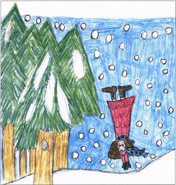 Bubbe's Mezuzah girl on the lake
