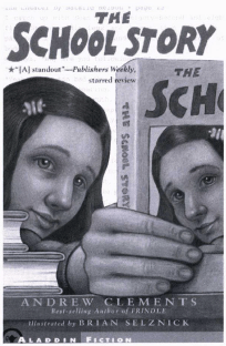 The School Story book cover