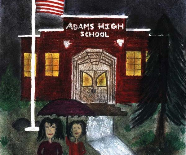 rainy day man adams high school