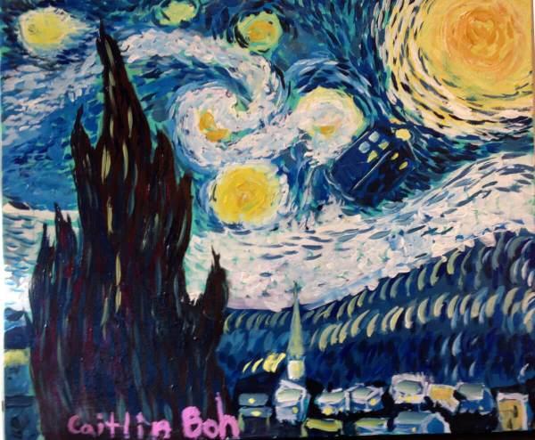 Space Travel: Goh to Van Gogh