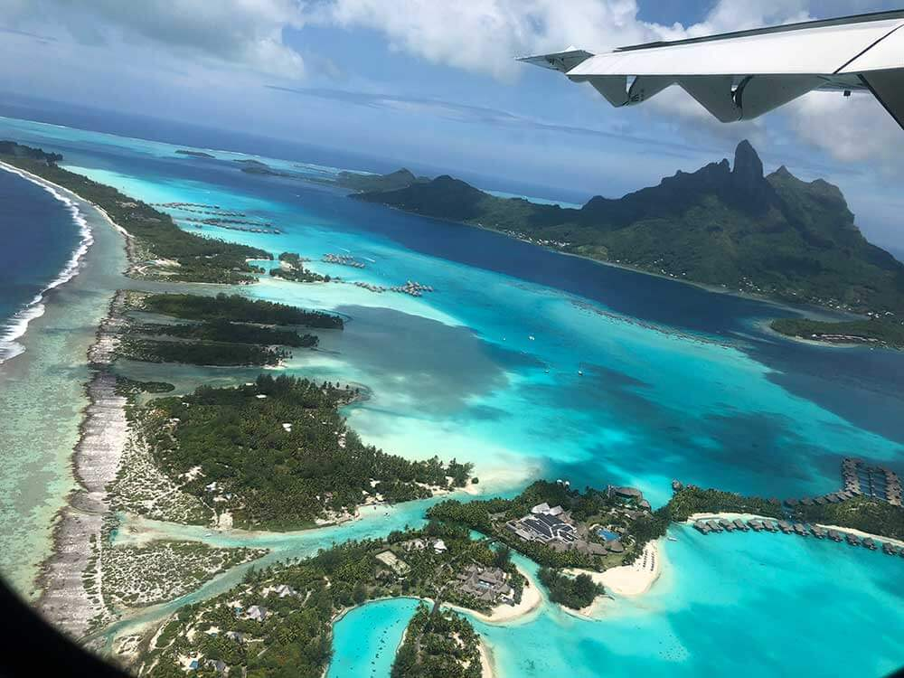 Over Bora Bora