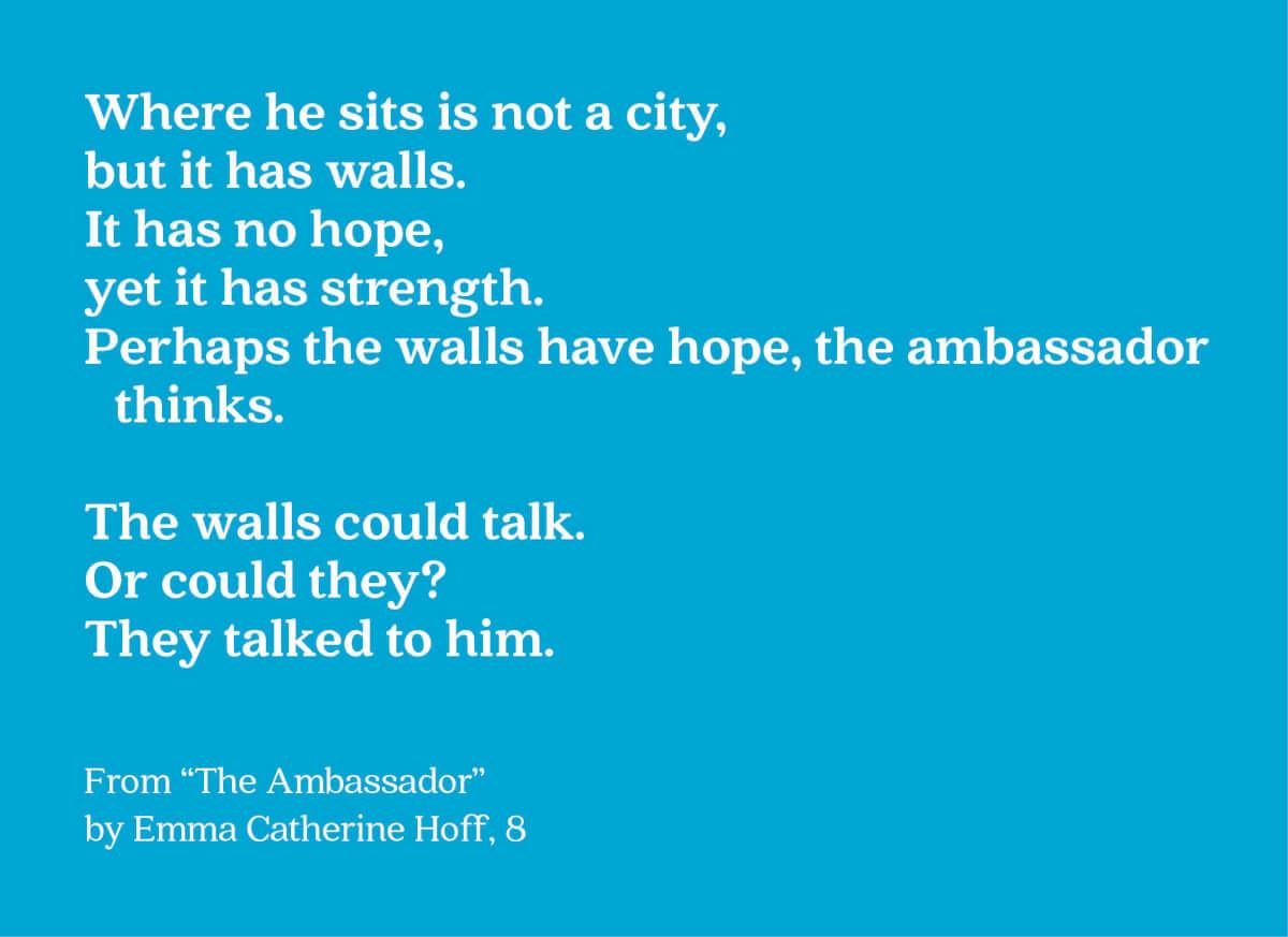the ambassador text image