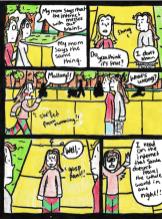web wars comic page 1