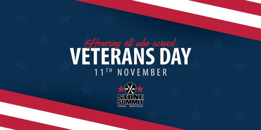 Stone Summit Veterans Day Salute