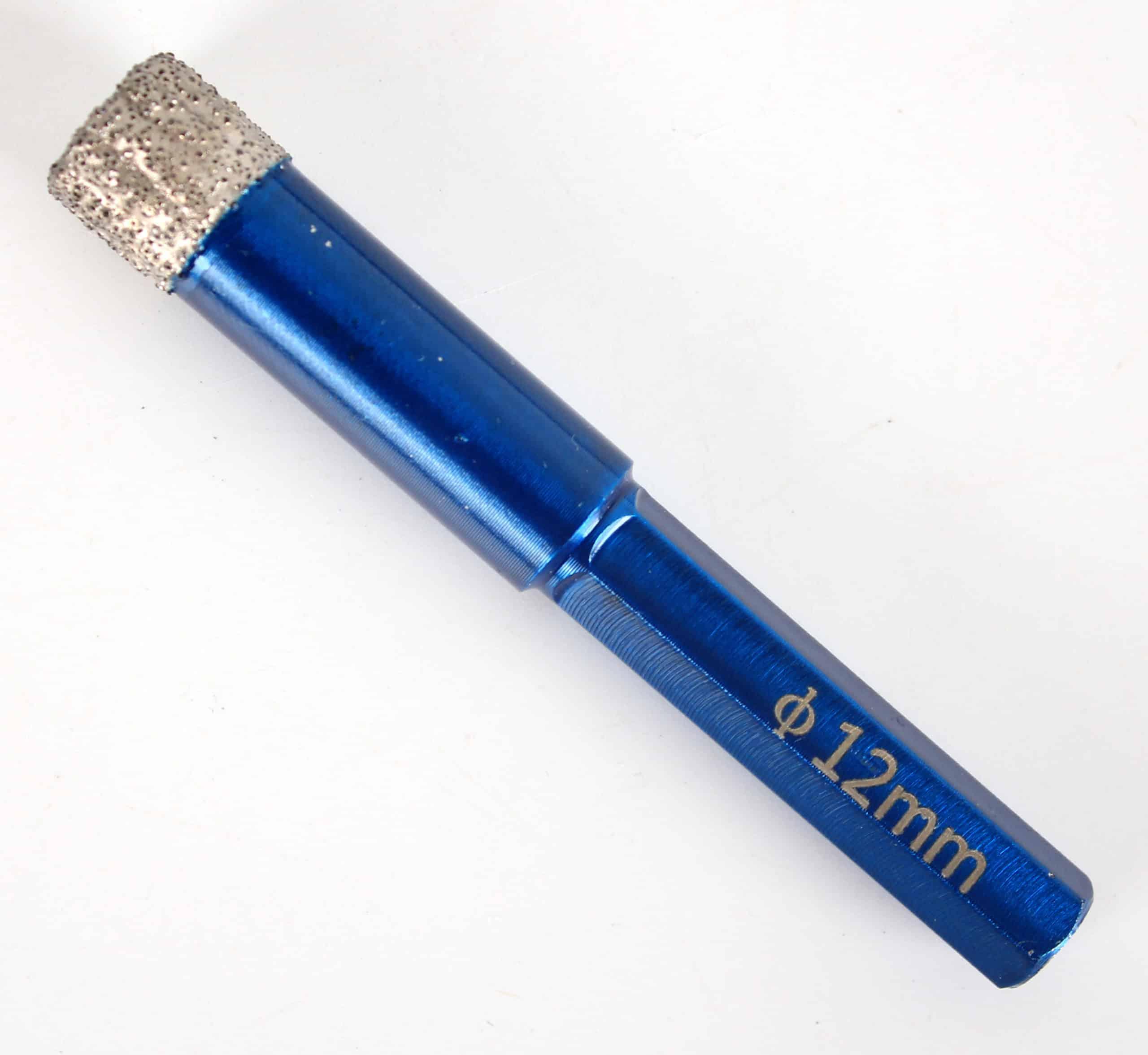 Diamond Drill Bit | Ceramic | Porcelain | Tile | Granite | Marble | Hexagon Shank 5/6/8/10/12/14 mm Hole Saw Cutter Power Tool