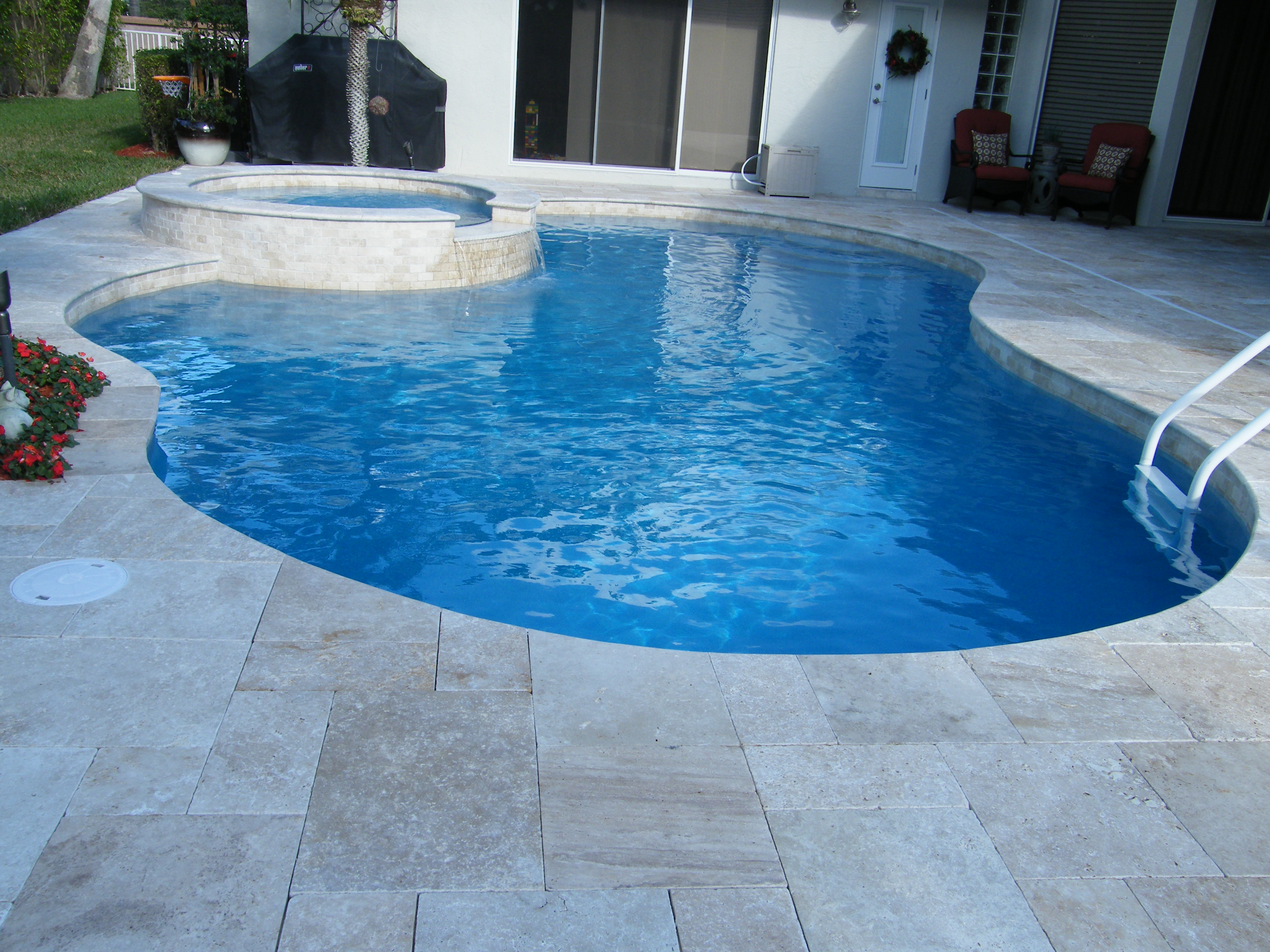 17 best images about tile and stone for swimming pools on, Gartengerate ideen