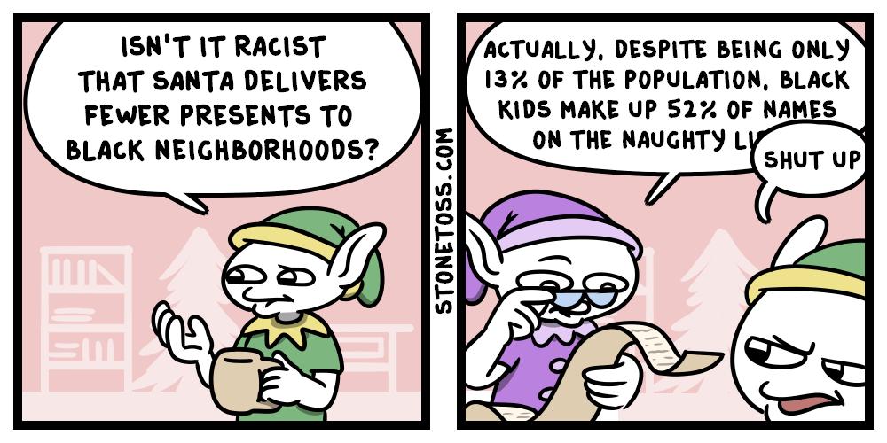 Christmas black crime statistics